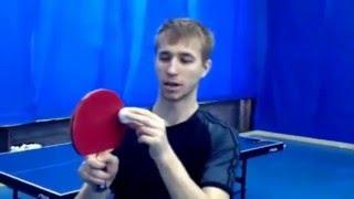 Короткая подача в настольном теннисе