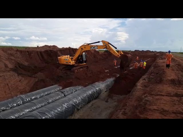 Tubos de Ferro Fundido - Assentamento na vala