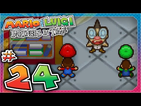 Mario and Luigi: Partners In Time - Part 24: YOUNG PROFESSOR ELVIN GADD!