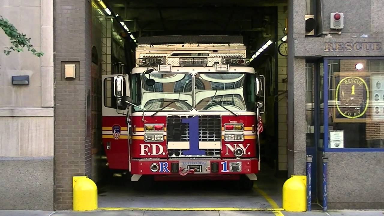 Fdny Rescue 1 Responding To 10 75 Box 0617 8 13 12
