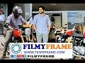 Actor Naga chaitanya New triumph thruxton Byke