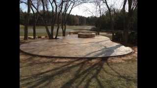 Custom Fire Pit - B.j. Mcguire Concrete