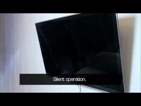 tv deckenhalter flasy tl elektrisch schwenkbar mit fun. Black Bedroom Furniture Sets. Home Design Ideas