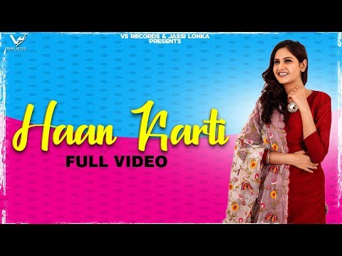 Haa Karti | Baani Sandhu | Full Hd Video New Punjabi Songs 2020 | Latest Punjabi Songs | Vs Records