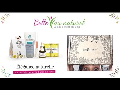 "La Box Belle au Naturel ""Elégance Naturelle"" (Mai 2017)"