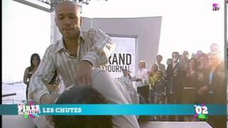 Ramzy chute au festival de Cannes
