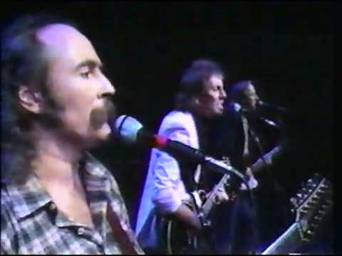 The dark side of David Crosby: the Drug Years - Wooden Ships, 1983