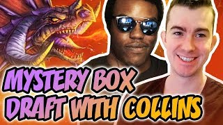 Mystery box draft with Collins
