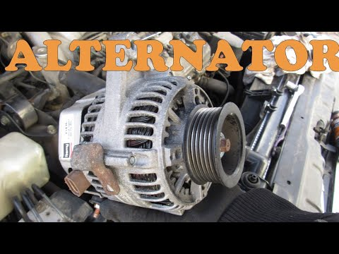 How to Replace an Alternator Toyota Lexus V6