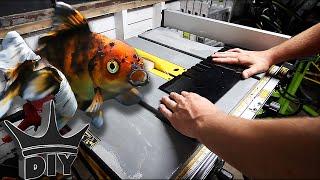 HOW TO: Build an AQUARIUM overflow weir - GOLDFISH aquarium