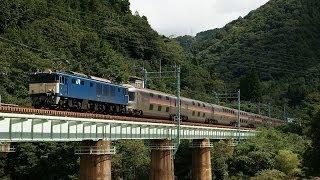 東北本線での災害、不通により、23日上野発分の送り込みのため上越線経...