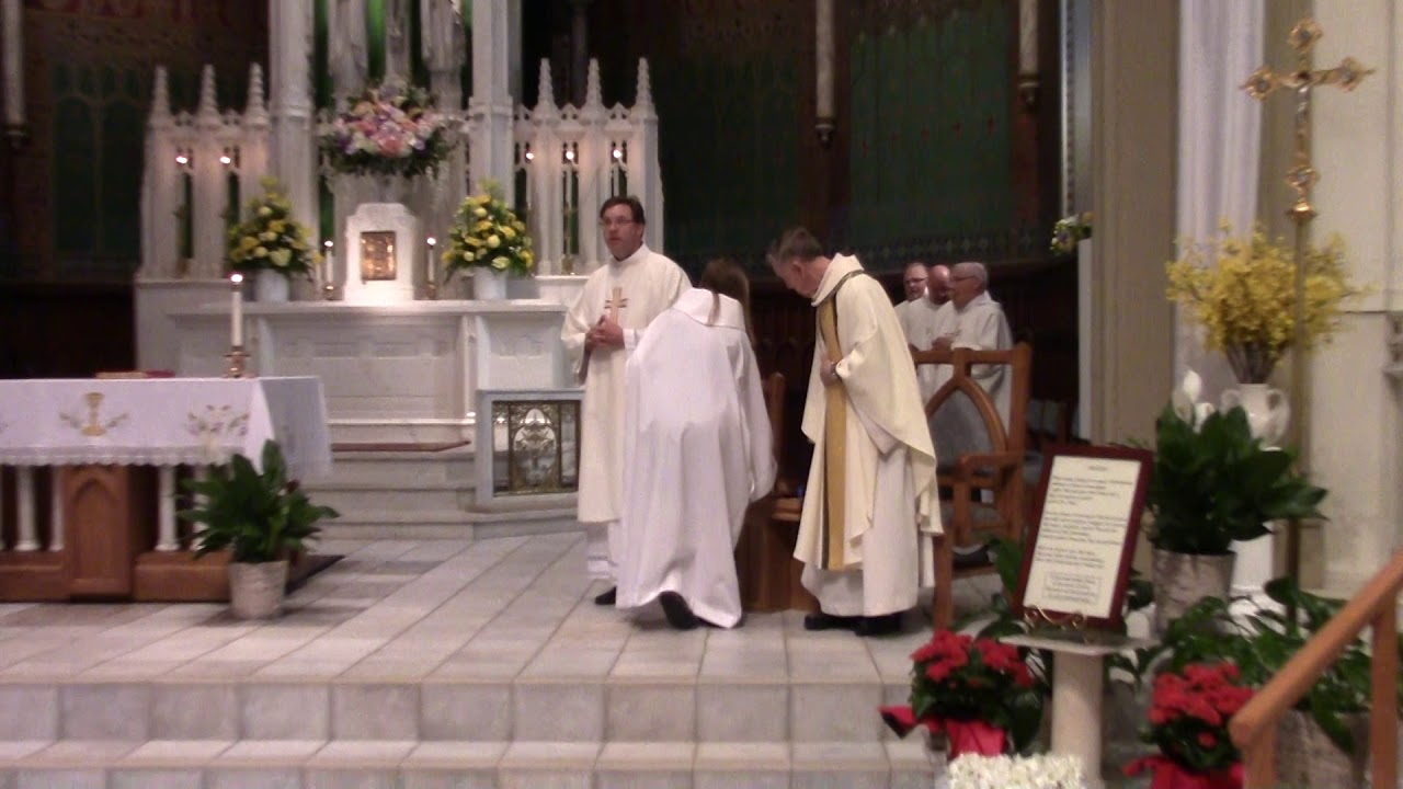 Fr. Norman Cote 60th Anniversary Mass  6-3-18