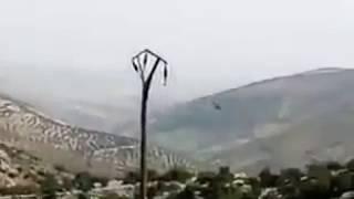 YPG AFRİNDE ATAK HELİKOPTERİ DÜŞÜRDÜ