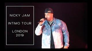 Nicky Jam - Intimo Tour - London 2019 | Shai Rabbani