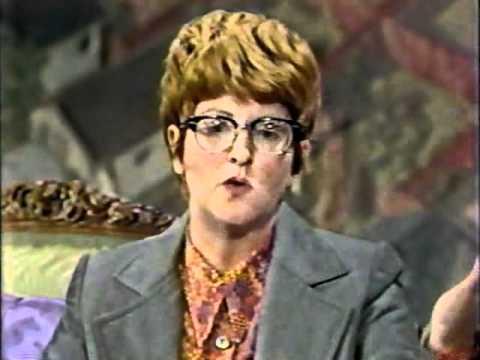 The original Sylvia Miller UFO alien abduction  from Fernwood Tonight