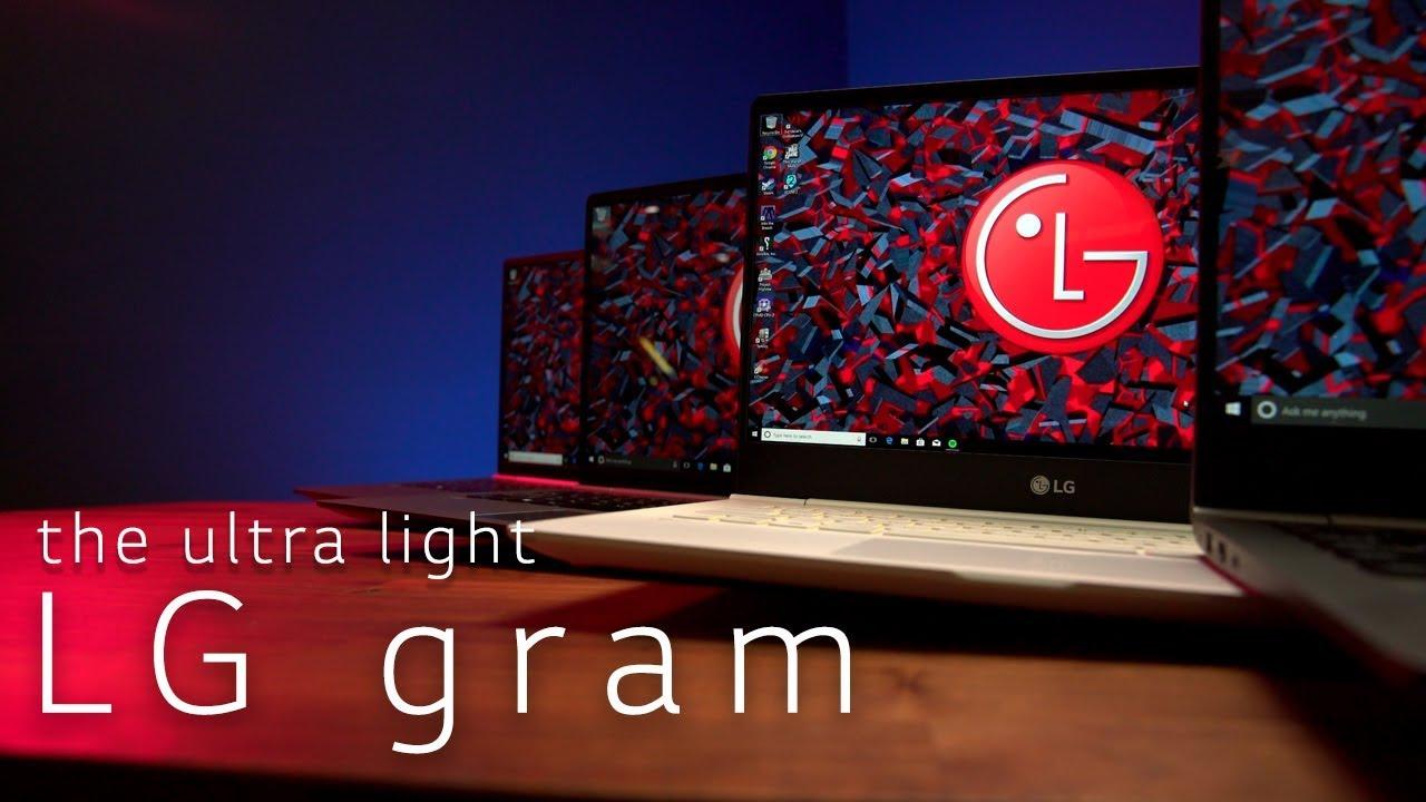 Hands-On: LG's ultra portable gram laptop line | Unlocked