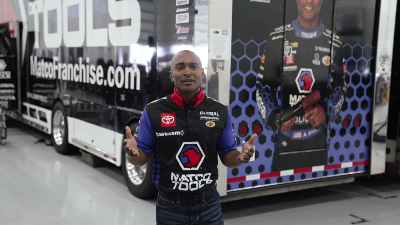 Champion Drag Racer inspires America's youth