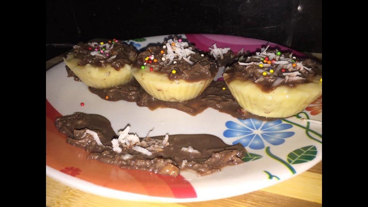 Eggless Cake Recipe In Marathi With Oven: Eggless Banana And Coconut Cupcake Recipe In Hindi