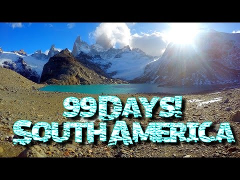 99 Days South America 2016! ♥︎ || Galapagos Island to South Tip of Argentina!
