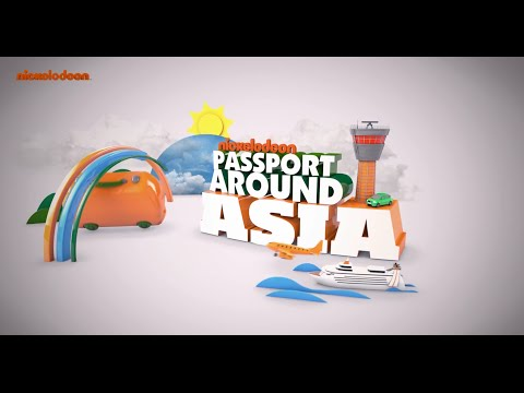 Nickelodeon 'Passport to Asia Ramadan Edition' (Singapore Motion Graphics)