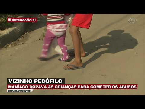 Vizinho dopa e estupra crianças na Grande SP