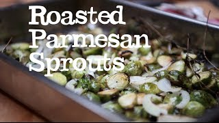 Roasted Parmesan Sprouts | Abel & Cole