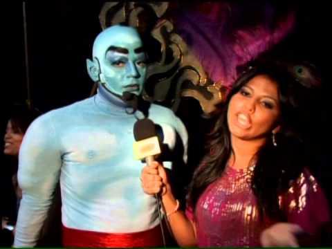 Andres Morales en ALADINO jr. Panamá junto a Kristela Degay