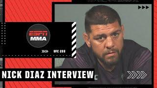 Nick Diaz On UFC 266 Return, Fighting Robbie Lawler \u0026 More | ESPN MMA