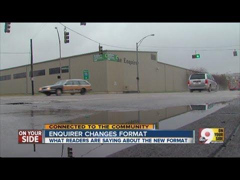 Cincinnati Enquirer Unveils New Paper Format