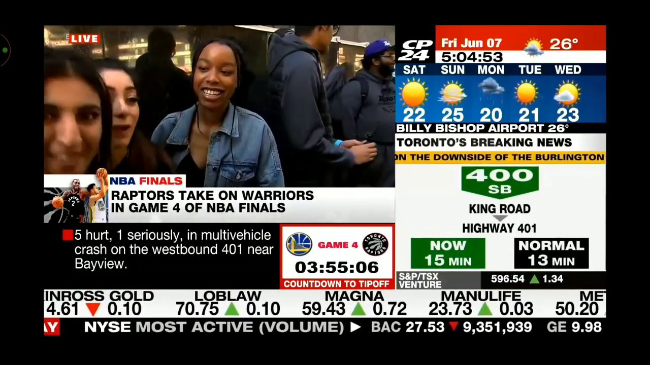 cp24 live@5 - YouTube
