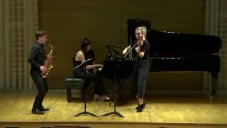 Milhaud -Suite op. 157b I. Ouverture (arr. Kavinsky Trio)