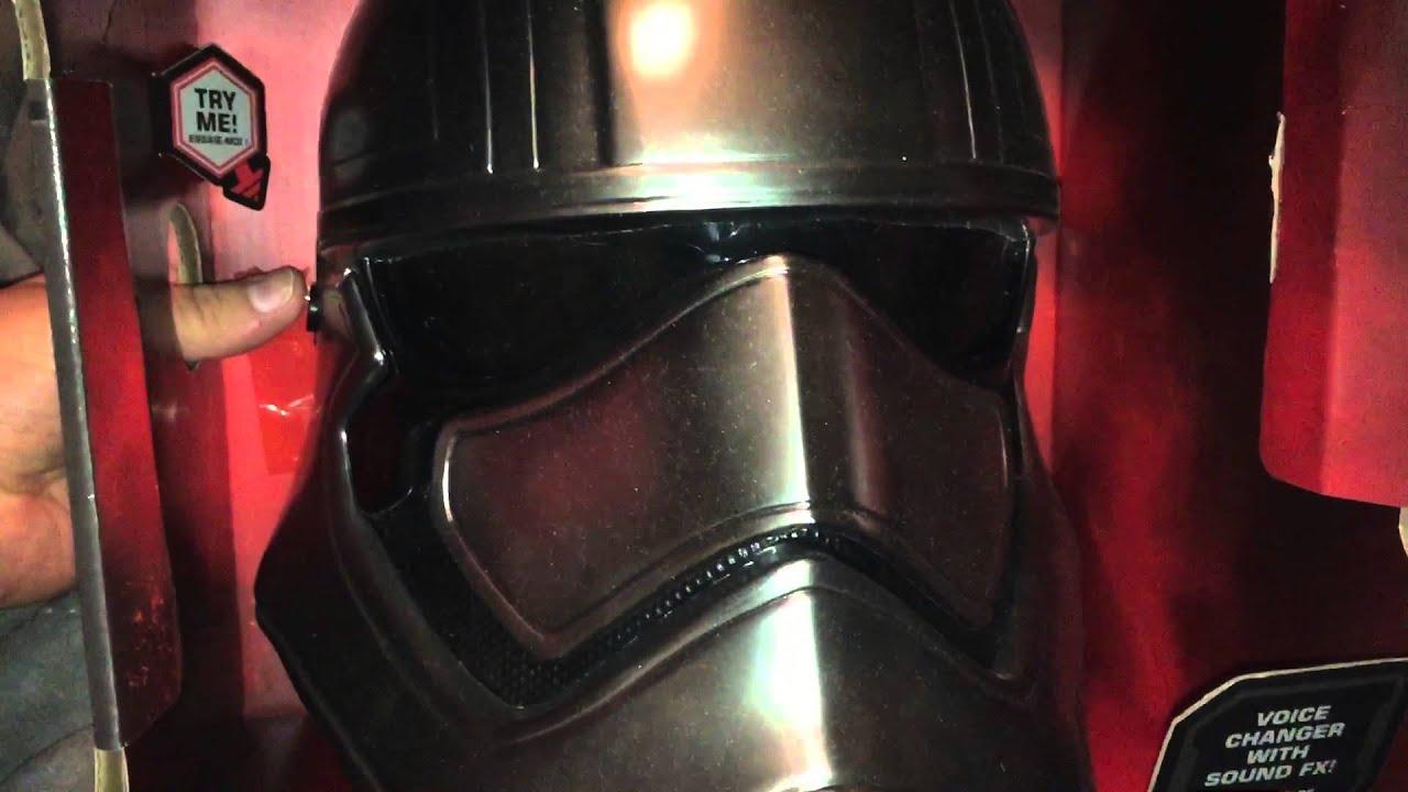 captain phasma voice changing helmet youtube