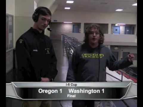 Collin Catman Color Commentator Oregon Ducks Hockey