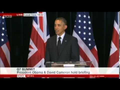 President Barack Obama on Scottish Independence