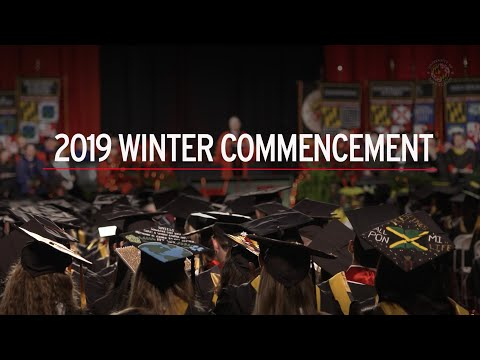 2019 Winter Commencement | UMD