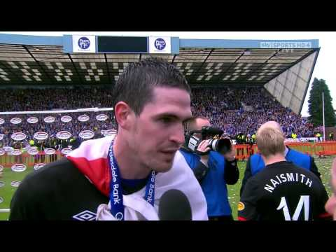 Kilmarnock Vs Rangers - After Match Celebrations - Helicopter Sunday 3 - 15.05.2011 (HighDef)