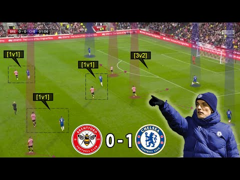 Brentford are a Tough Nut to Crack   Brentford vs Chelsea 0-1   Tactical Analysis by Nouman