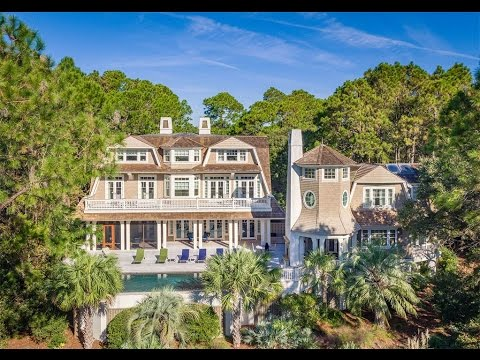 Oceanfront Nantucket Style Home In Kiawah Island South Carolina