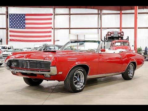 1969 Mercury Cougar Red