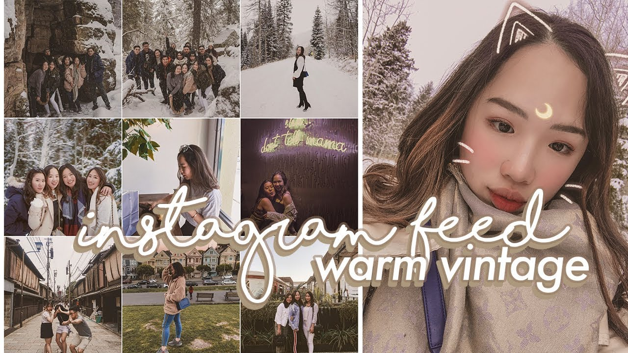 how i edit instagram photos | WARM VINTAGE EFFECT (+ free preset!)