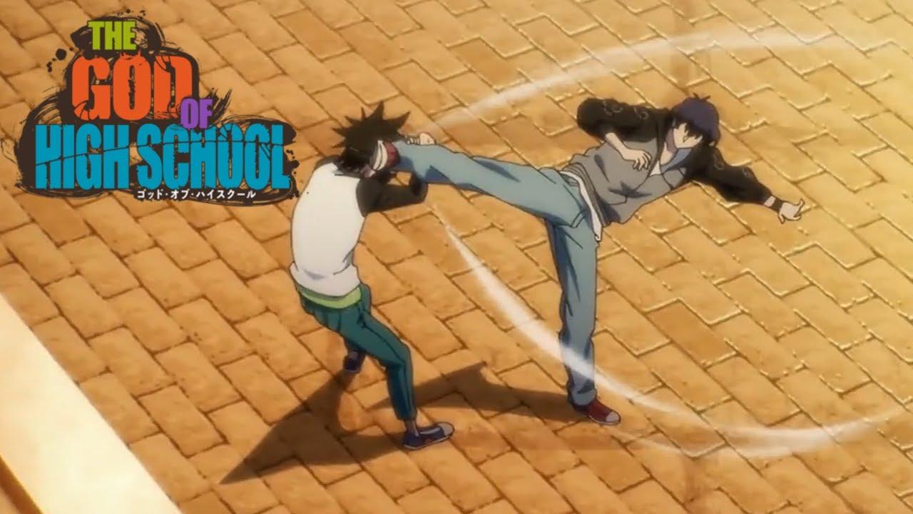 Download Jin Mori vs Park ilpyo | The god of highschool episode 8 Jin Mori meets Park ilpyo HD 1080p