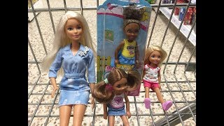 Barbie and Chelsea Go Shopping IRL! Chelsea Gets A Birthday Gift! Fun Dolls Pretend Play!