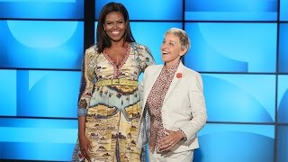 First Lady Michelle Obama Co-Hosts with Ellen! thumbnail