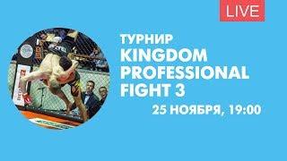 Турнир Kingdom Professional Fight 3. Онлайн-трансляция