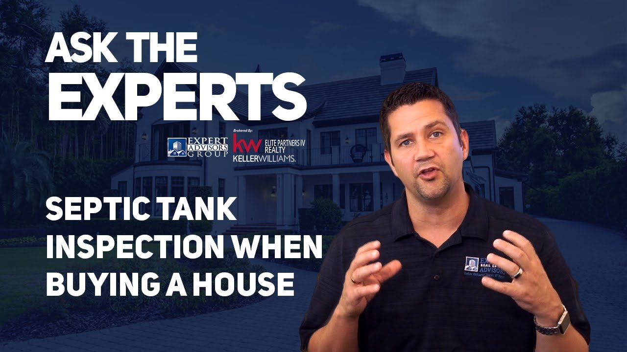 Ask the Experts: Septic Tank Inspection when Buying a House - Jon Wanberg