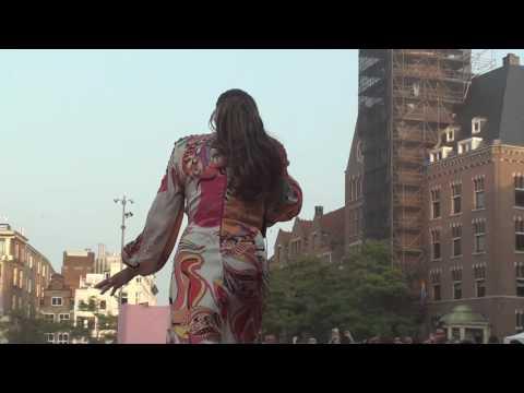 3 Tara McDonald, Anita Doth 23 07 2016 Dam Square Freedom Party De Dam, Amsterdam