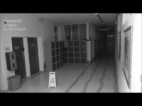Ghost CAUGHT ON CAMERA At School In Cork, Ireland  | What's Trending Now!