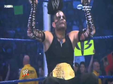 Jeff Hardy vs CM Punk (Smackdown 2009) Part 1