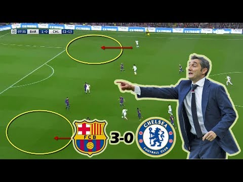 Barcelona vs Chelsea 3-0 | Tactical Analysis | UCL 2nd Leg