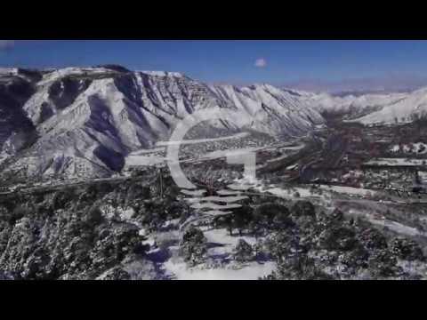 Glenwood Springs in Winter - the Land of Water